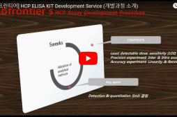 [동영상] HCP ELISA KIT Development Service (개발과정 소개)
